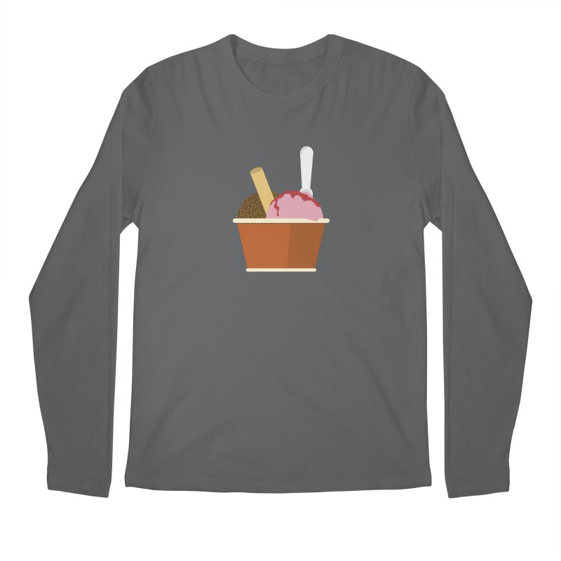 Sweet ice cream 10 Men's Regular Longsleeve T-Shirt by virbia's Artist Shop