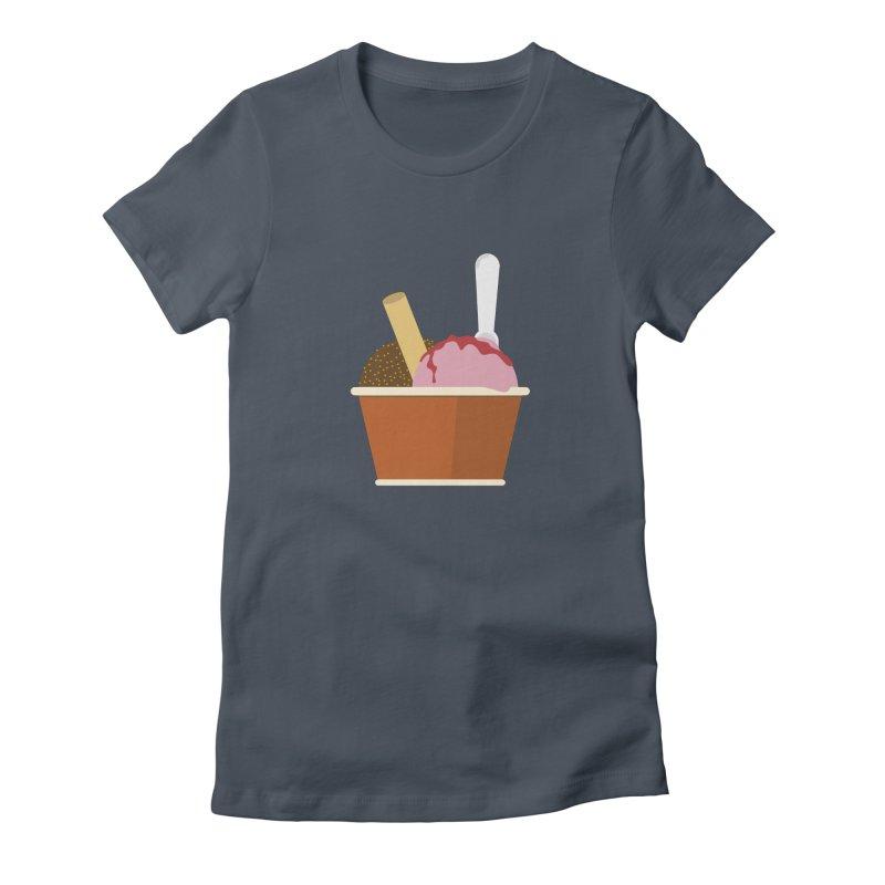 Sweet ice cream 10 Women's T-Shirt by virbia's Artist Shop