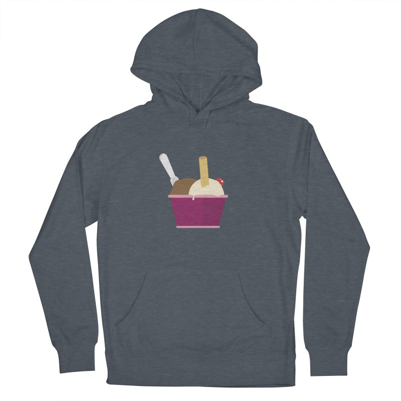 Sweet ice cream 12 Men's French Terry Pullover Hoody by virbia's Artist Shop