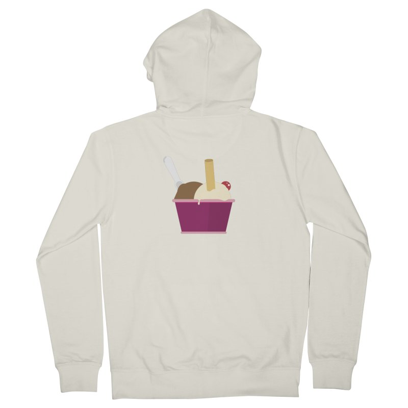 Sweet ice cream 12 Men's French Terry Zip-Up Hoody by virbia's Artist Shop