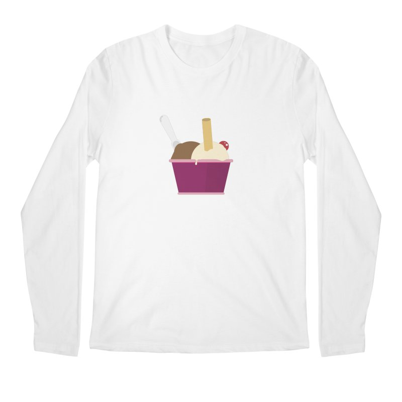 Sweet ice cream 12 Men's Longsleeve T-Shirt by virbia's Artist Shop