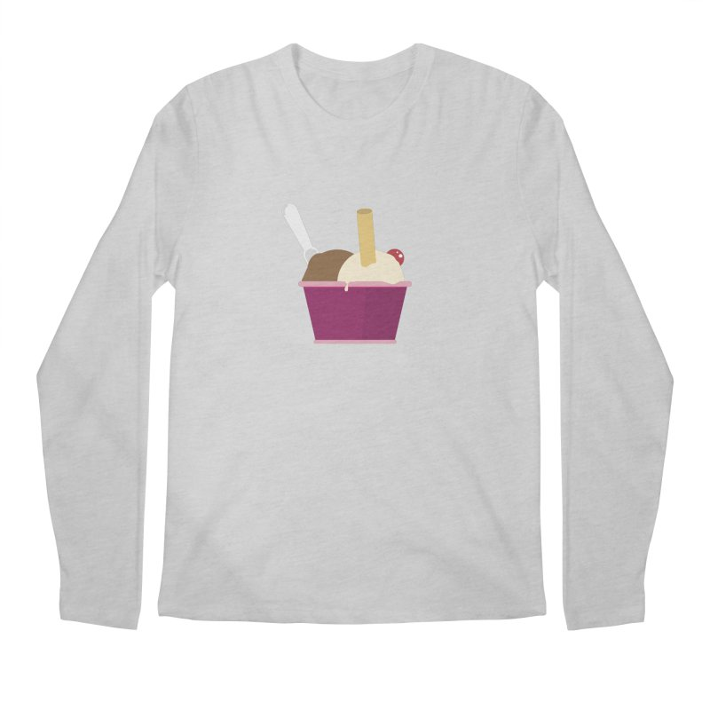Sweet ice cream 12 Men's Regular Longsleeve T-Shirt by virbia's Artist Shop