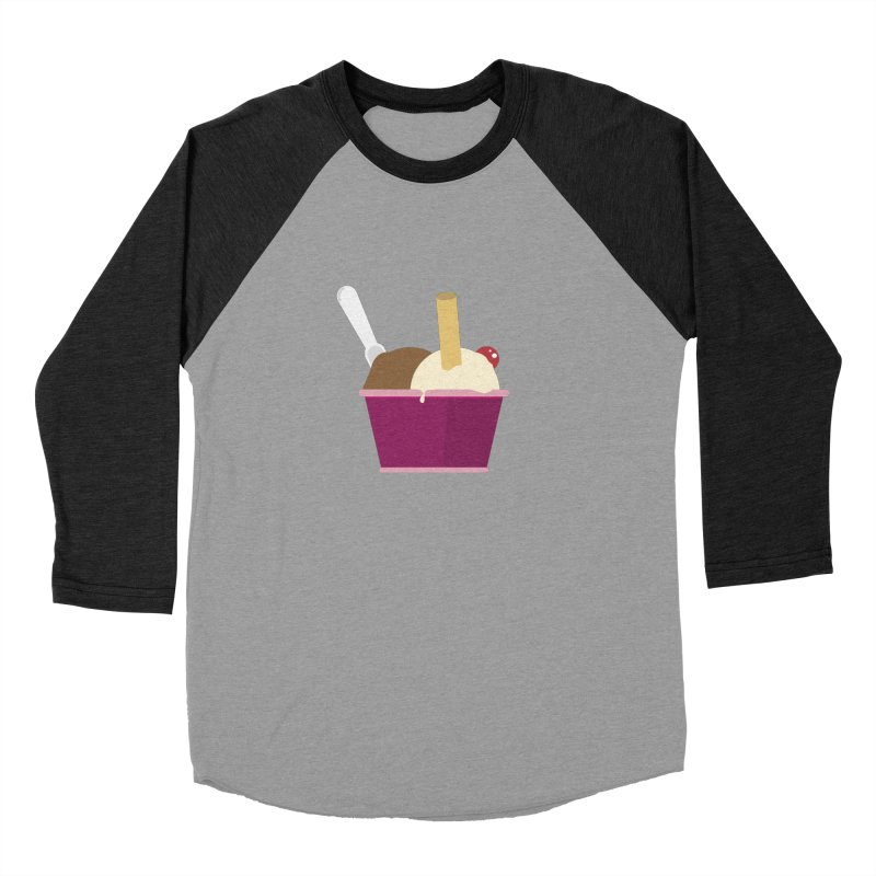 Sweet ice cream 12 Women's Baseball Triblend Longsleeve T-Shirt by virbia's Artist Shop