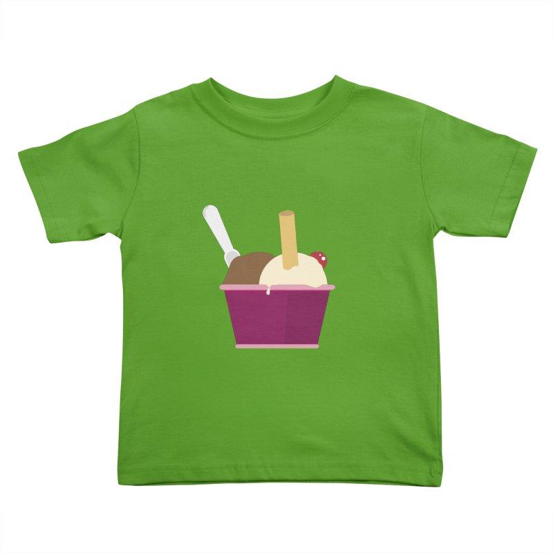 Sweet ice cream 12 Kids Toddler T-Shirt by virbia's Artist Shop