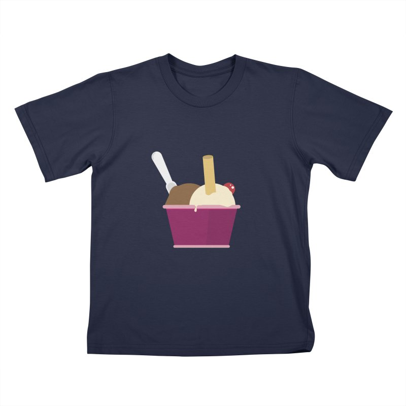 Sweet ice cream 12 Kids T-Shirt by virbia's Artist Shop