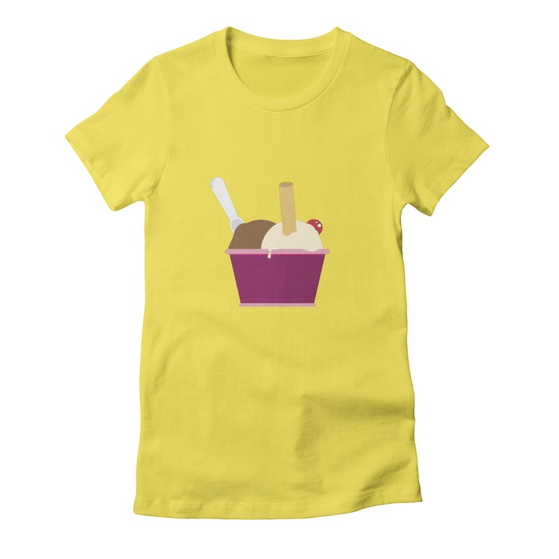 Sweet ice cream 12 Women's T-Shirt by virbia's Artist Shop