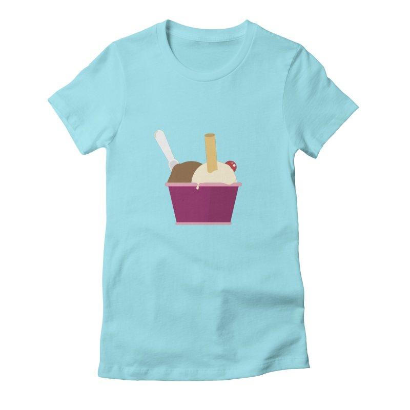 Sweet ice cream 12 Women's T-Shirt by virbia's Artist Shop