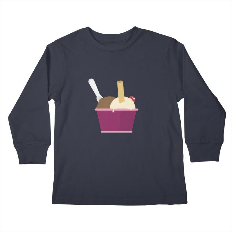 Sweet ice cream 12 Kids Longsleeve T-Shirt by virbia's Artist Shop