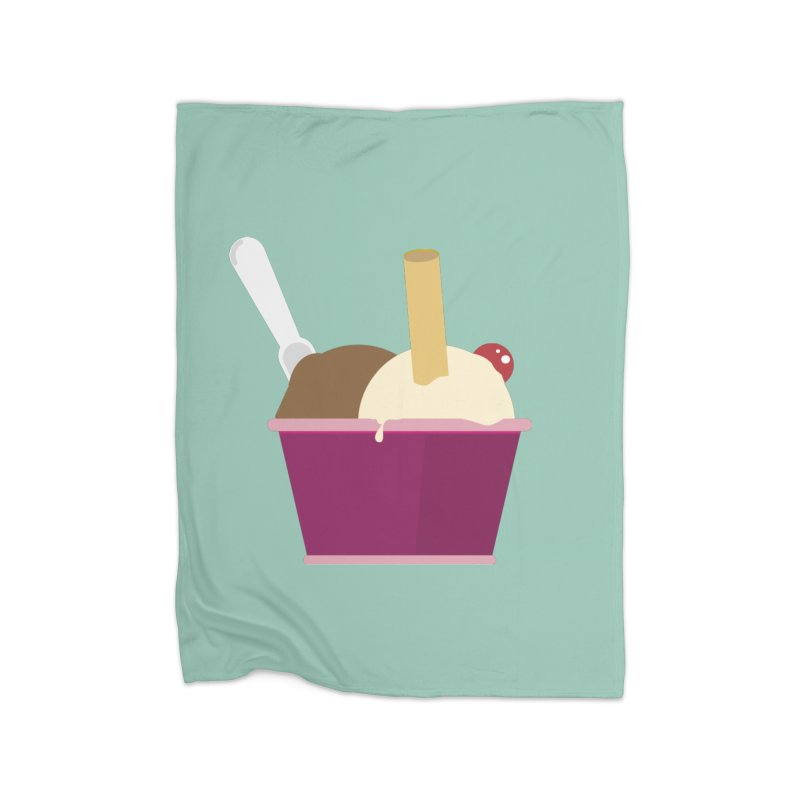 Sweet ice cream 12 Home Blanket by virbia's Artist Shop