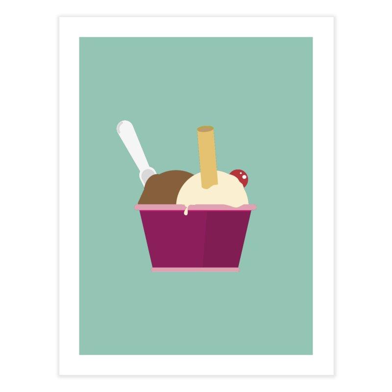 Sweet ice cream 12 Home Fine Art Print by virbia's Artist Shop