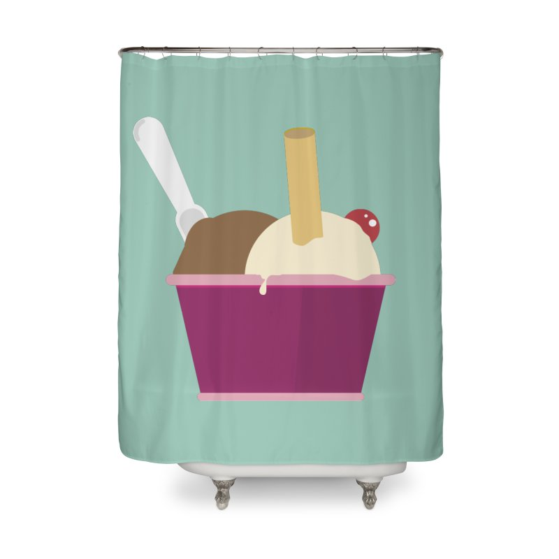 Sweet ice cream 12 Home Shower Curtain by virbia's Artist Shop