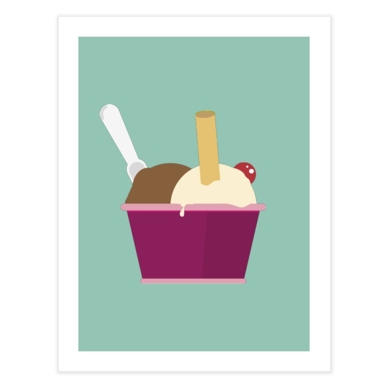 Sweet ice cream 12 Home Fine Art Print by virbia's Artist Shop