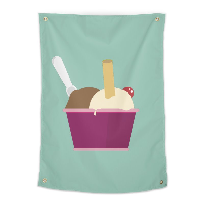 Sweet ice cream 12 Home Tapestry by virbia's Artist Shop
