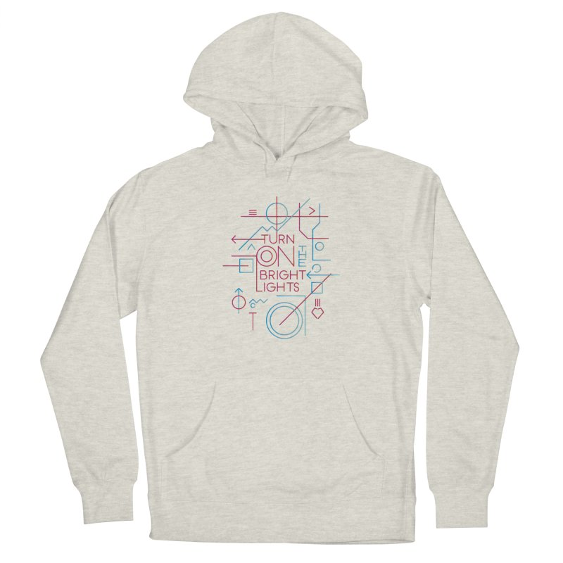 Turn on the bright lights Men's Pullover Hoody by virbia's Artist Shop