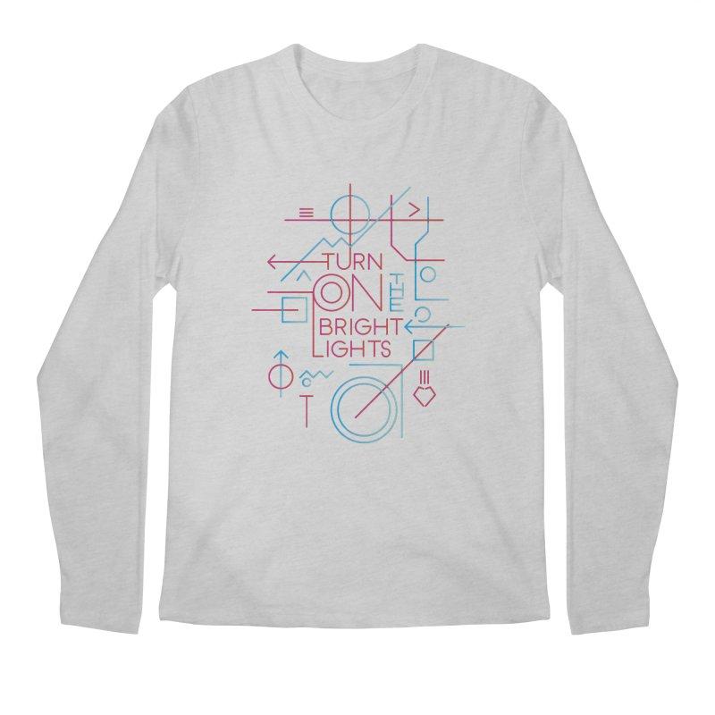 Turn on the bright lights Men's Longsleeve T-Shirt by virbia's Artist Shop