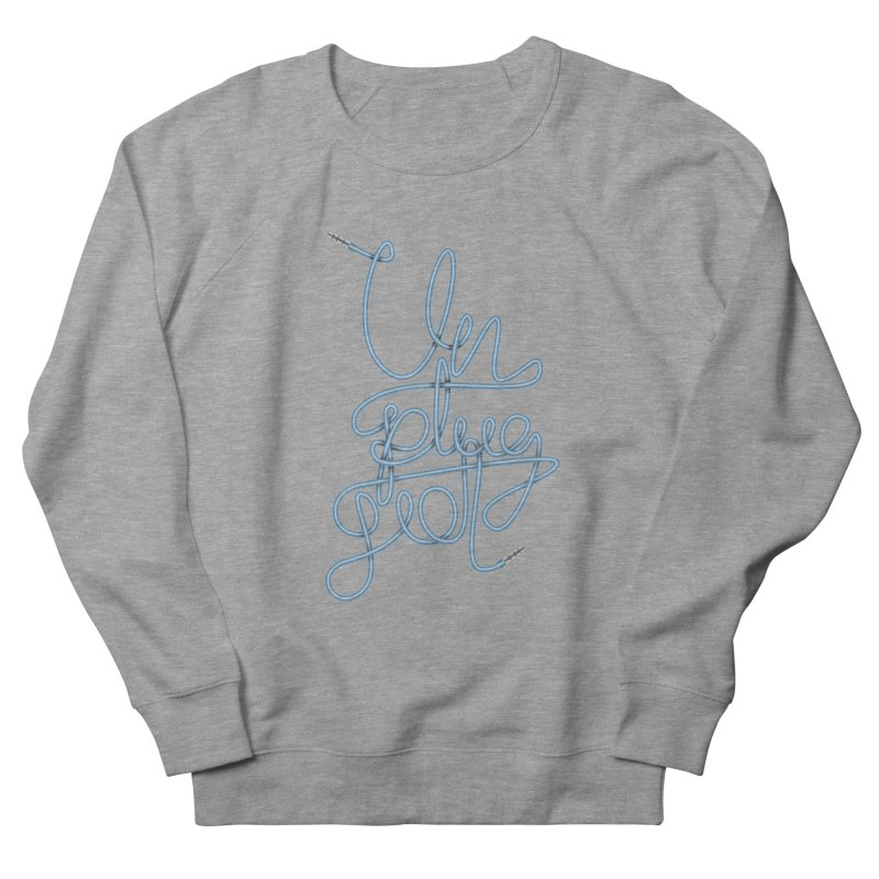 Unplugged music Men's French Terry Sweatshirt by virbia's Artist Shop