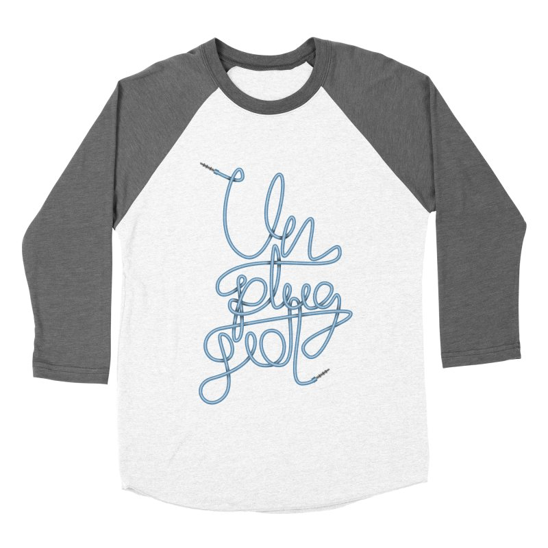 Unplugged music Women's Baseball Triblend Longsleeve T-Shirt by virbia's Artist Shop