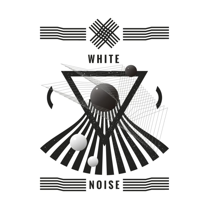 White noise music Men's V-Neck by virbia's Artist Shop