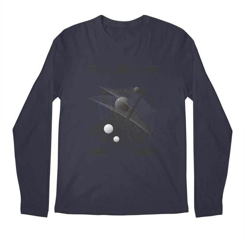 White noise music Men's Longsleeve T-Shirt by virbia's Artist Shop