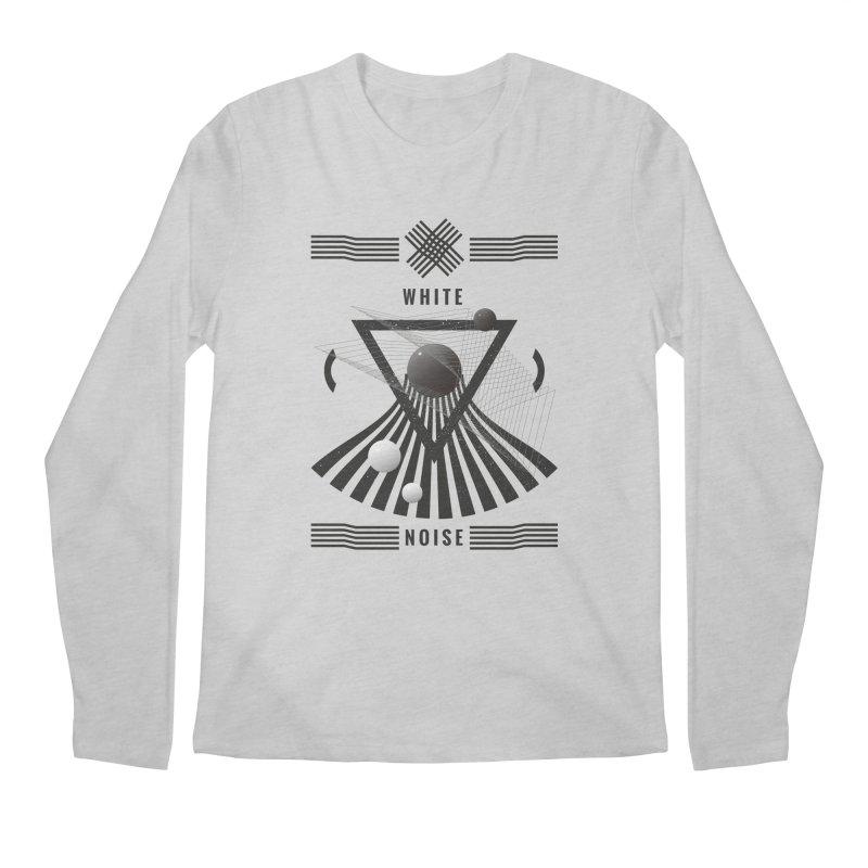 White noise music Men's Regular Longsleeve T-Shirt by virbia's Artist Shop