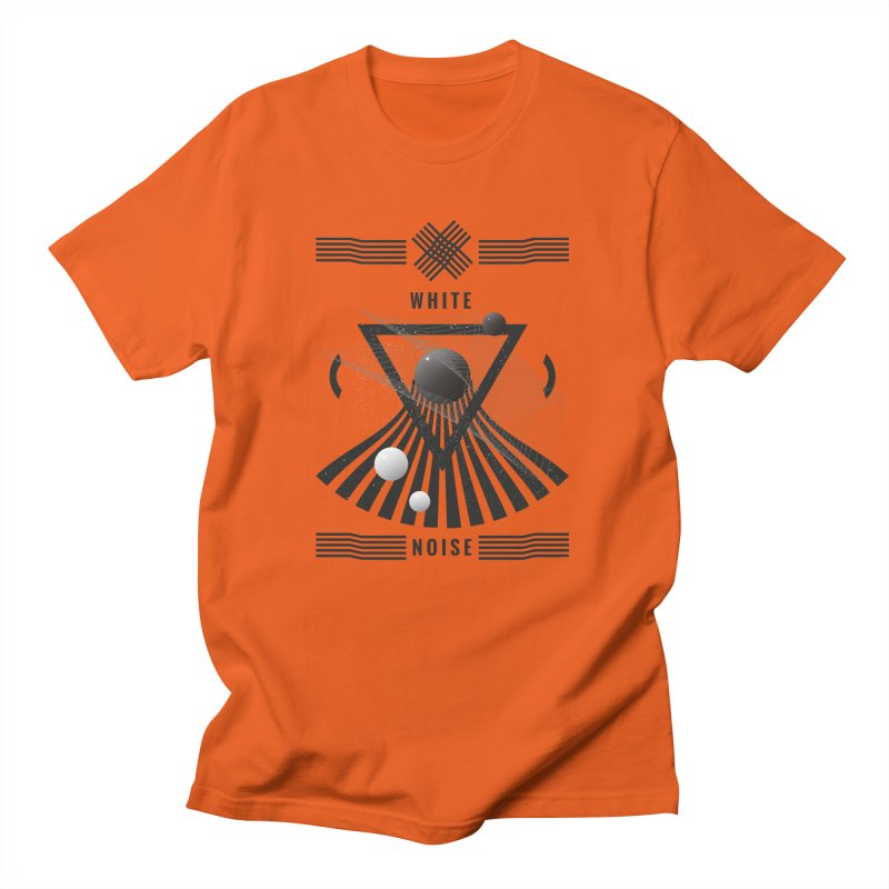 White noise music Men's T-Shirt by virbia's Artist Shop