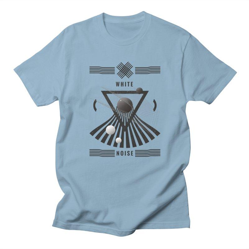 White noise music Women's Regular Unisex T-Shirt by virbia's Artist Shop