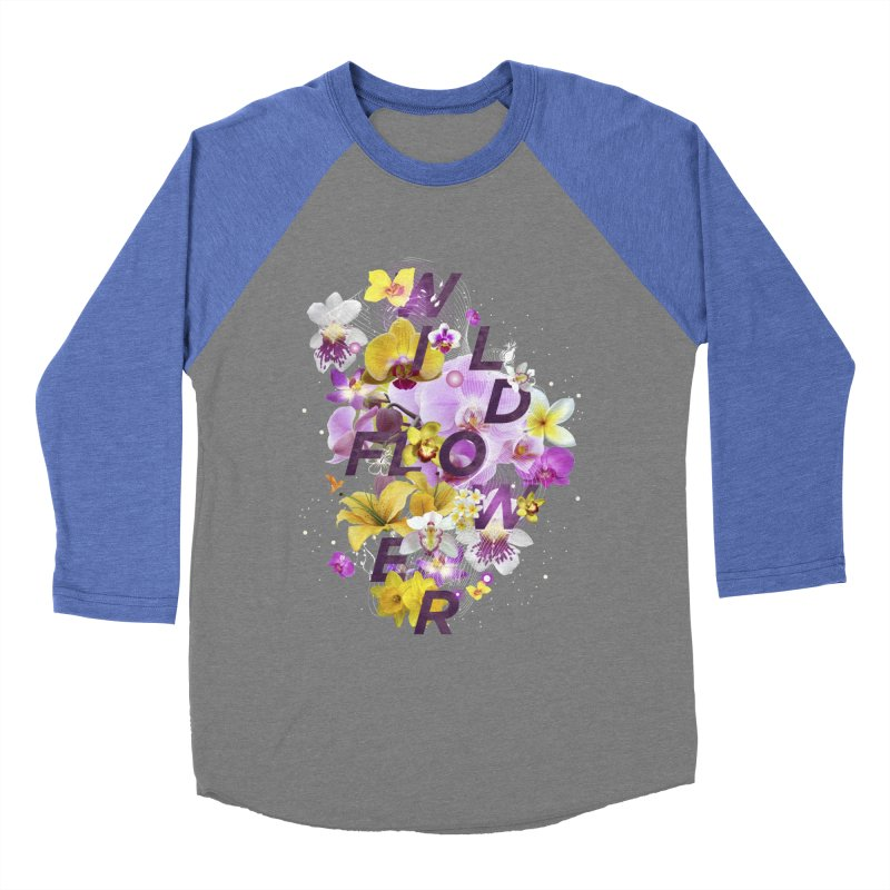 Wild Flower Women's Longsleeve T-Shirt by virbia's Artist Shop