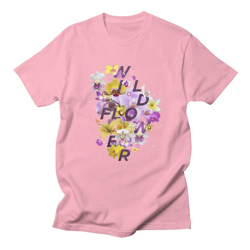 Wild Flower Women's Regular Unisex T-Shirt by virbia's Artist Shop