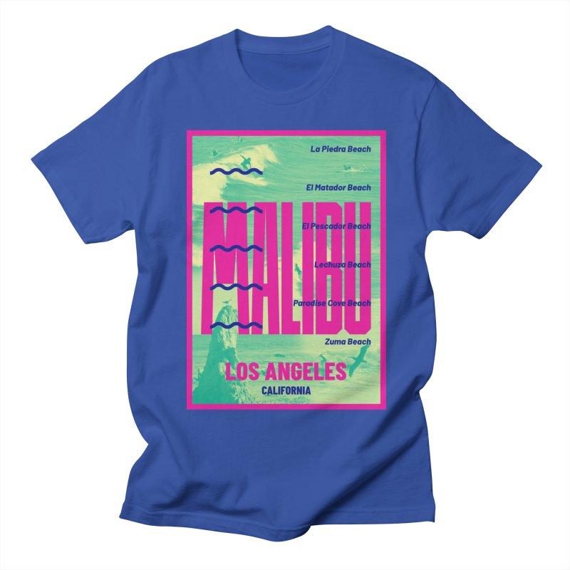 Malibu California beach Women's Regular Unisex T-Shirt by virbia's Artist Shop