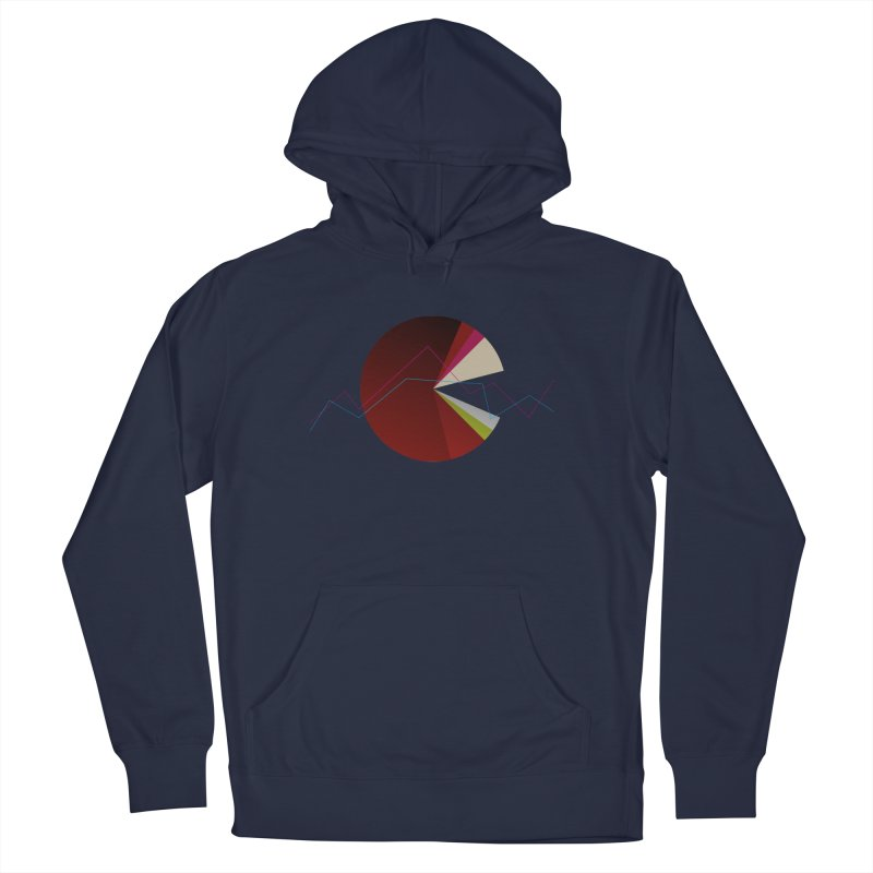 Statistic circle Men's Pullover Hoody by virbia's Artist Shop