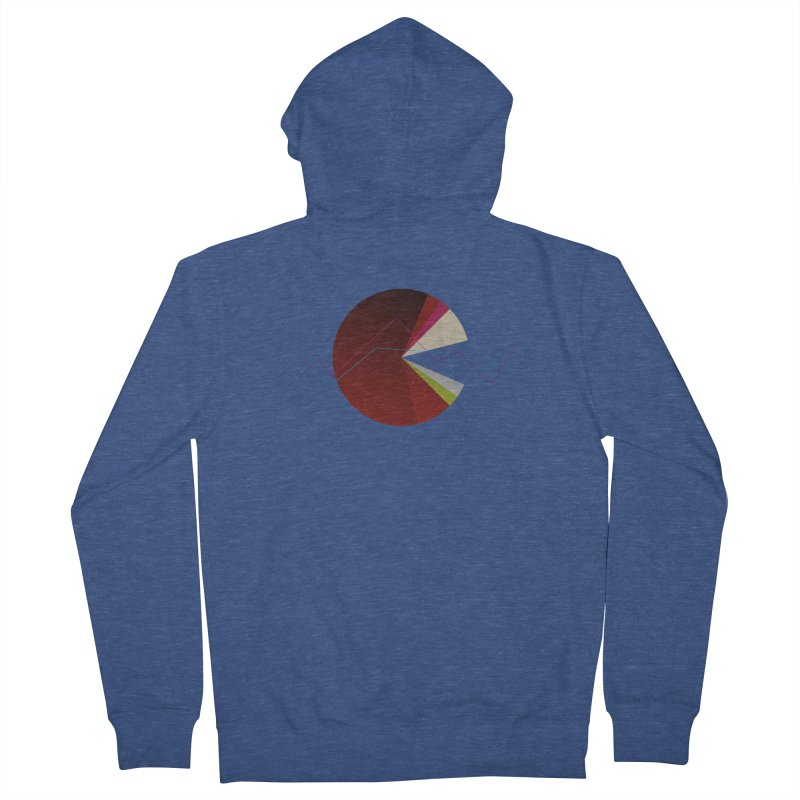 Statistic circle Men's Zip-Up Hoody by virbia's Artist Shop