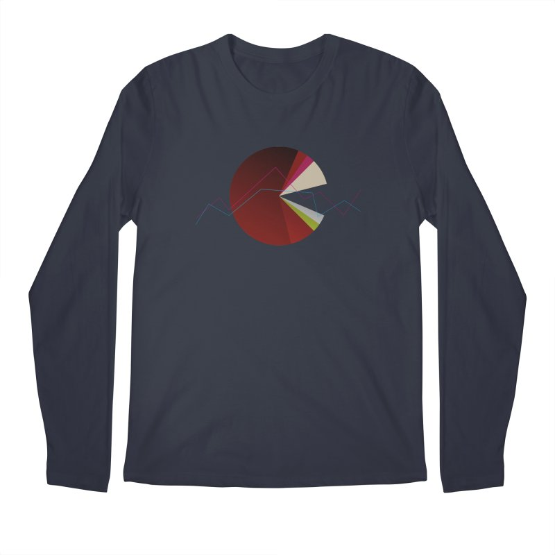 Statistic circle Men's Longsleeve T-Shirt by virbia's Artist Shop