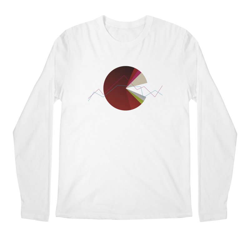 Statistic circle Men's Longsleeve T-Shirt by virbia's Artist Shop