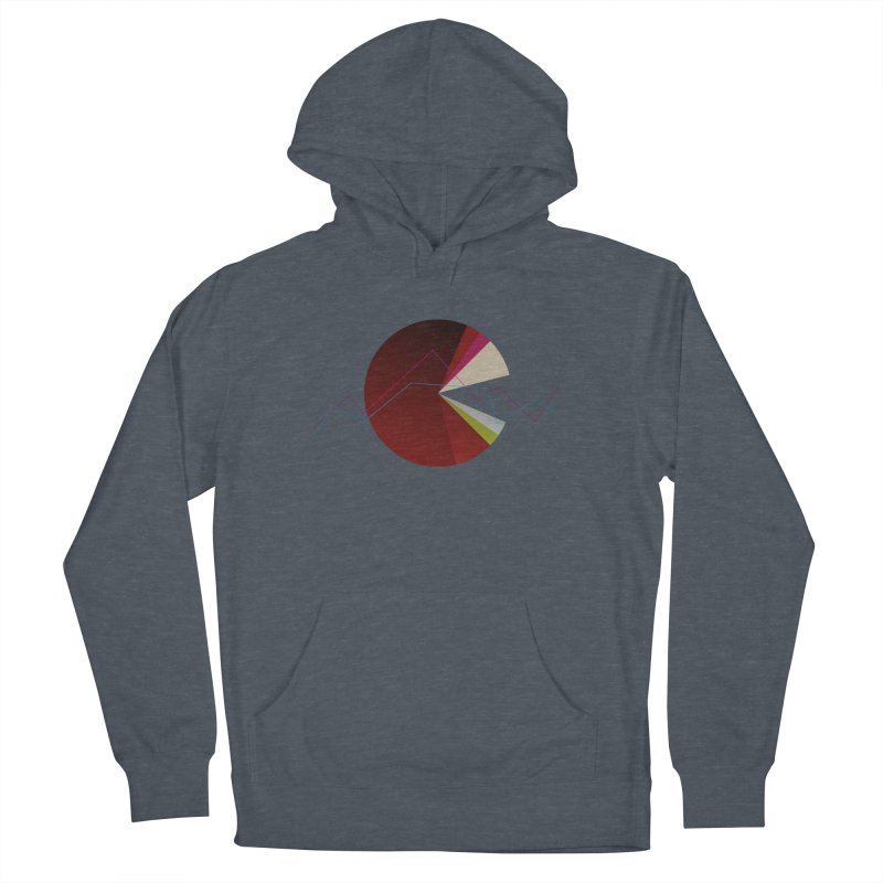 Statistic circle Men's French Terry Pullover Hoody by virbia's Artist Shop