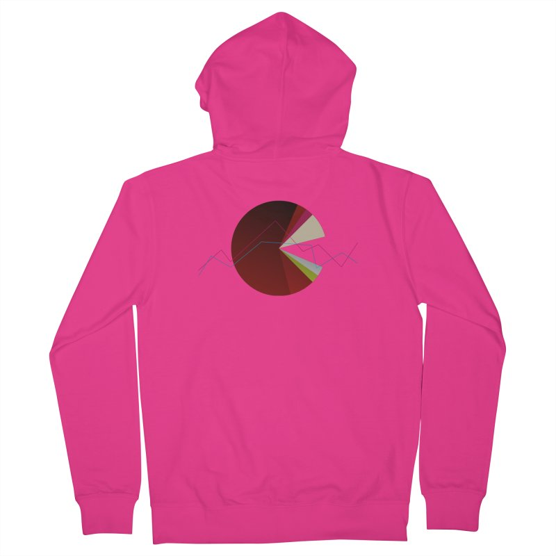 Statistic circle Men's French Terry Zip-Up Hoody by virbia's Artist Shop