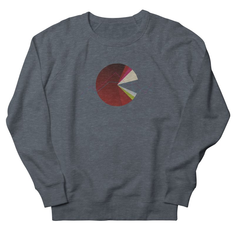 Statistic circle Men's French Terry Sweatshirt by virbia's Artist Shop