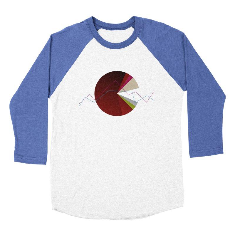 Statistic circle Women's Baseball Triblend Longsleeve T-Shirt by virbia's Artist Shop