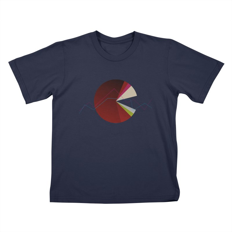 Statistic circle Kids T-Shirt by virbia's Artist Shop