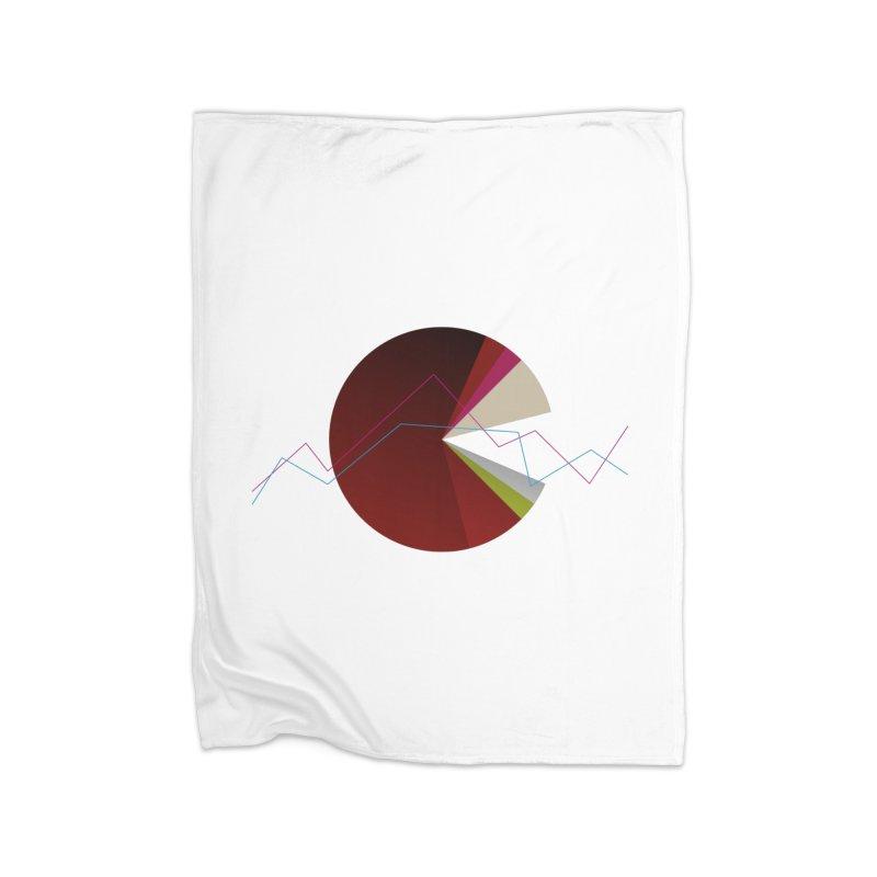 Statistic circle Home Blanket by virbia's Artist Shop
