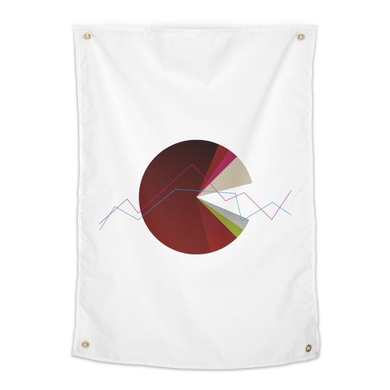 Statistic circle Home Tapestry by virbia's Artist Shop