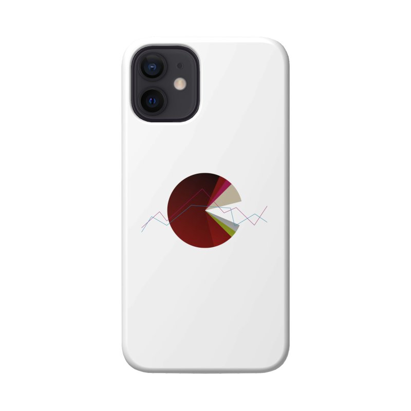 Statistic circle Accessories Phone Case by virbia's Artist Shop