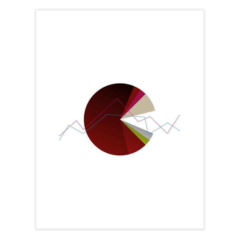 Statistic circle Home Fine Art Print by virbia's Artist Shop