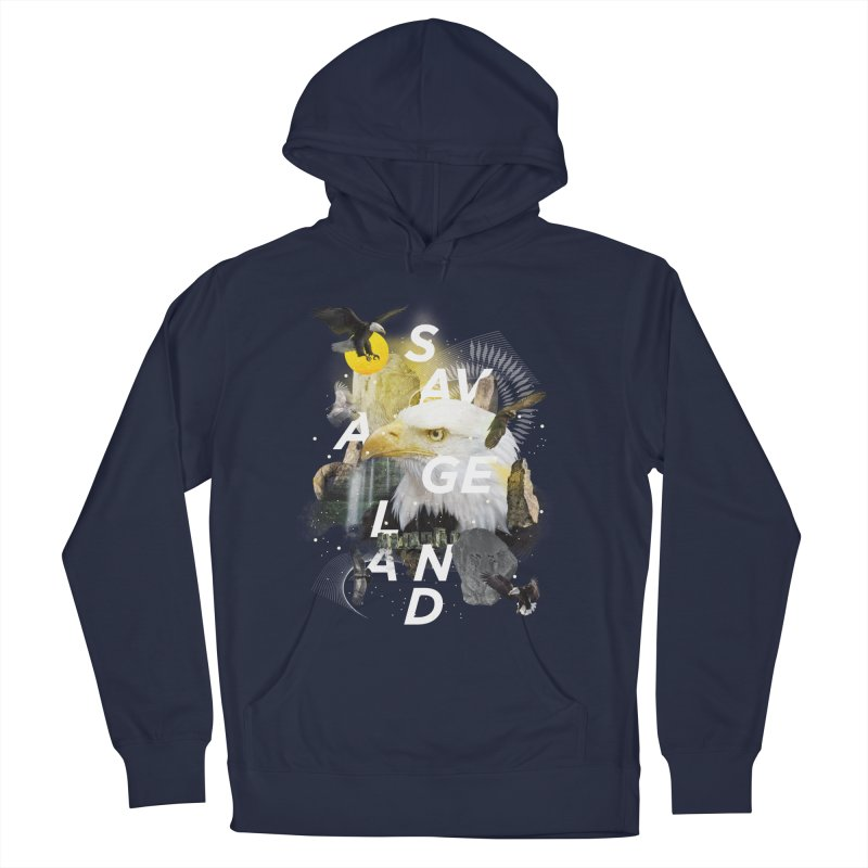 Savage Land Men's Pullover Hoody by virbia's Artist Shop