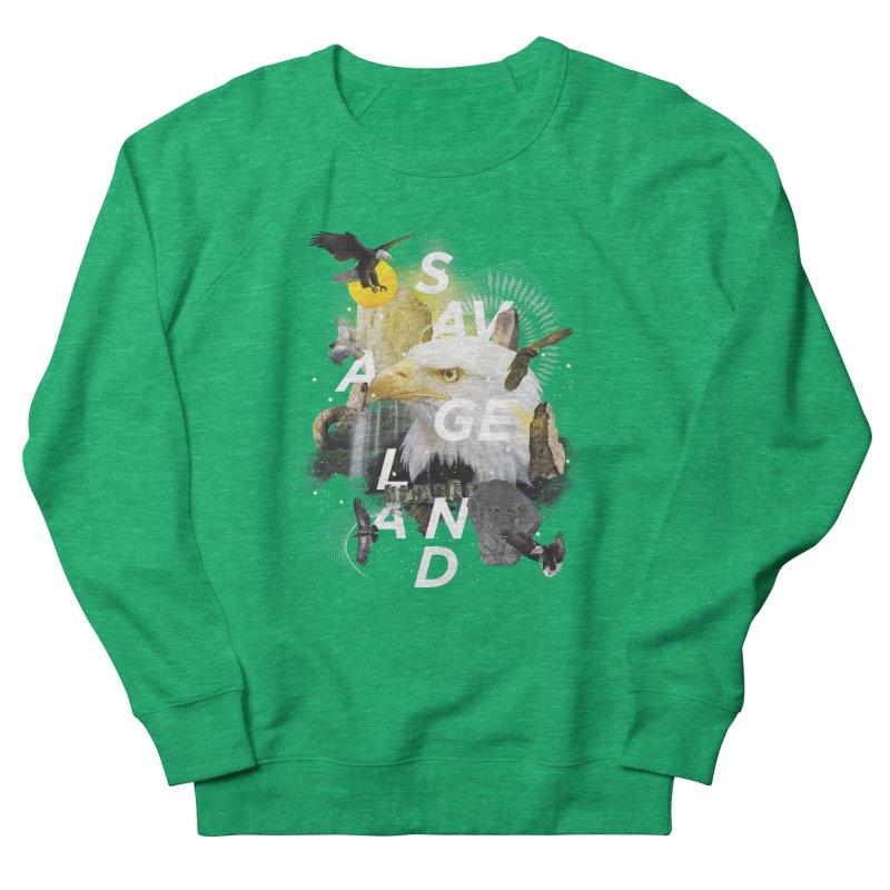 Savage Land Women's Sweatshirt by virbia's Artist Shop