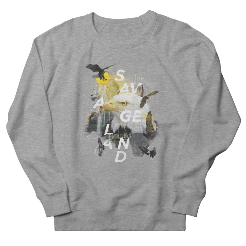 Savage Land Men's Sweatshirt by virbia's Artist Shop