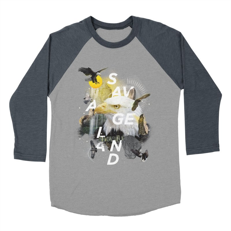 Savage Land Men's Longsleeve T-Shirt by virbia's Artist Shop