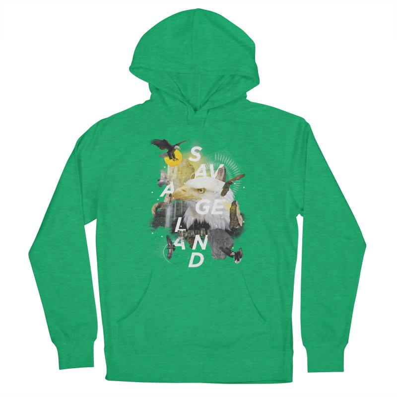 Savage Land Men's Pullover Hoody by virbia's Artist Shop