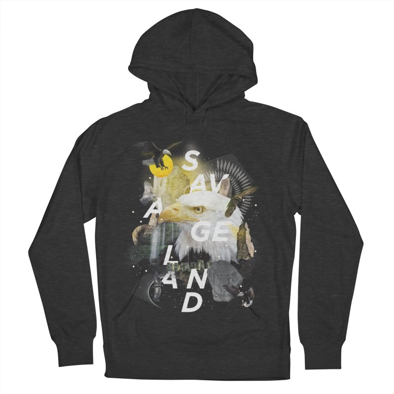 Savage Land Women's French Terry Pullover Hoody by virbia's Artist Shop