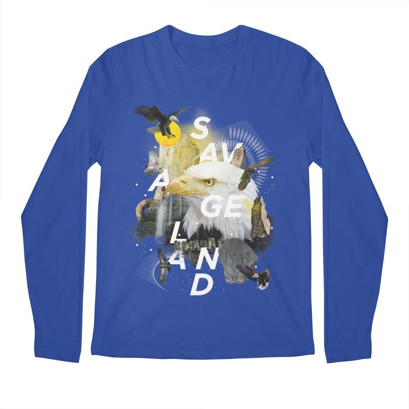 Savage Land Men's Longsleeve T-Shirt by virbia's Artist Shop
