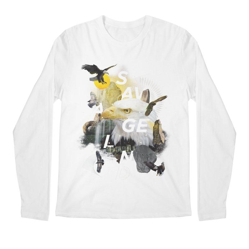 Savage Land Men's Regular Longsleeve T-Shirt by virbia's Artist Shop
